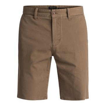 Quiksilver Men's Krandy Chino St Shorts - Cub Brown