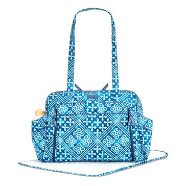 Vera Bradley Stroll Around Baby Bag - Cuban Tiles