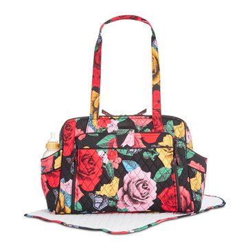 Vera Bradley Stroll Around Baby Bag - Havana Rose