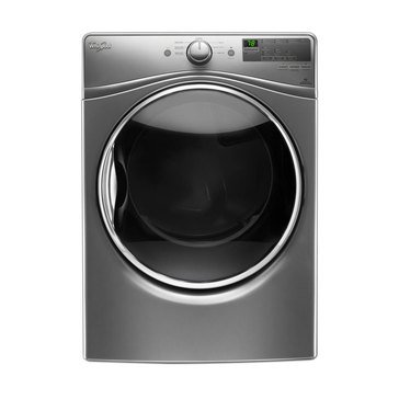 Whirlpool 7.4-Cu.Ft. Electric Dryer, Chrome (WED85HEFC)