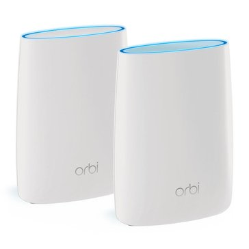 NetGear Orbi Wireless Router AC3000 Tri-Band Wi-Fi System RBK50-100NAS