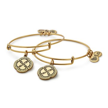 Alex and Ani Infinite Connection, Set of 2