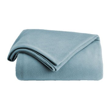 Berkshire Fleece Blanket, Mineral - Full/Queen