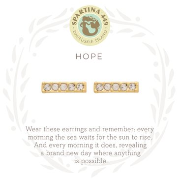 Spartina 449 Sea La Vie Stud Earrings Hope Horizon