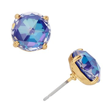 Kate Spade Gold Tone 'Bright Ideas' Sapphire Stud Earrings