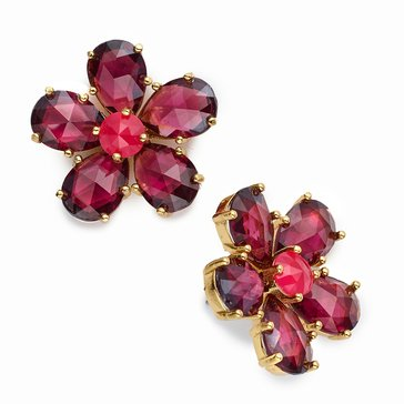 Kate Spade Gold Tone 'In Full Bloom' Berry Stud Earrings
