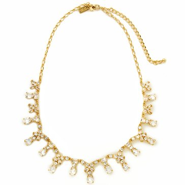 Kate Spade Gold Tone 'Take A Shine' Clear Short Necklace