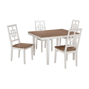 Signature Design by Ashley Brovada Dining Room Table and Chairs Set