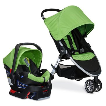 Britax B-Agile 3 Travel System With B-Safe 35 - Meadow