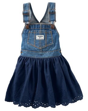 OshKosh Baby Girls' Eyelet Jumper