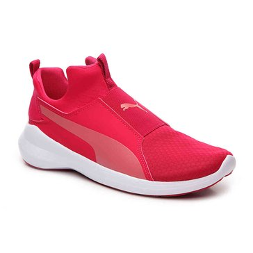 Puma Rebel Mid Women's Court Shoe - Love Potion / Rapture Rose