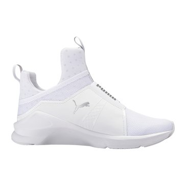 Puma Fierce Core Women's Court Shoe - Puma White / Puma Silver