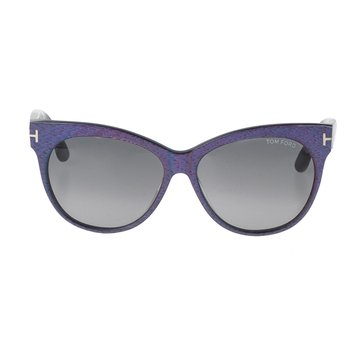 Tom Ford Women's Saskia FT330 Sunglasses, Matte Violet 57mm