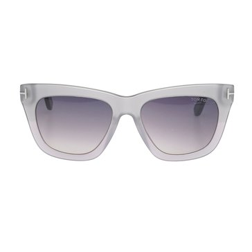 Tom Ford Women's Celina Sunglasses, Grey/Purple 55mm