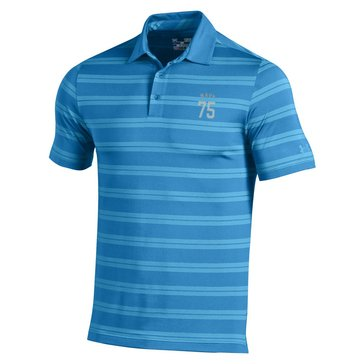 Under Armour Navy 75 Men's Performance Stripe Polo