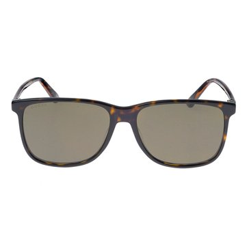 Gucci GG0017S Men's Sunglasses 57mm