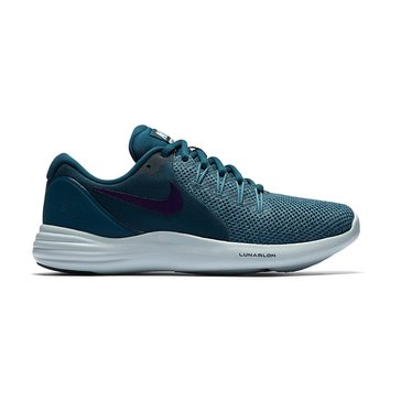 Nike Lunar Apparent Women's Running Shoe - Space Blue / Ink / Cerulean / Glacier