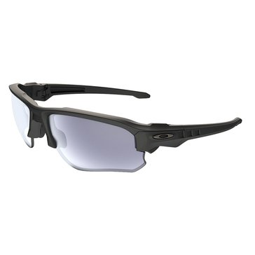 Oakley Standard Issue Men's Speed Jacket Sunglasses, Matte Black/Grey