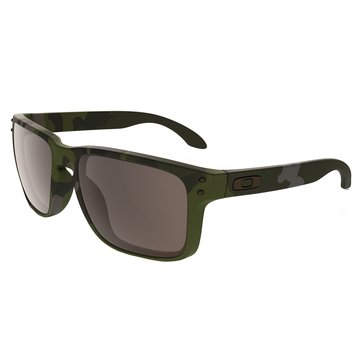 Oakley Standard Issue Men's Holbrook Sunglasses, Multi Cam/Tropic Gray