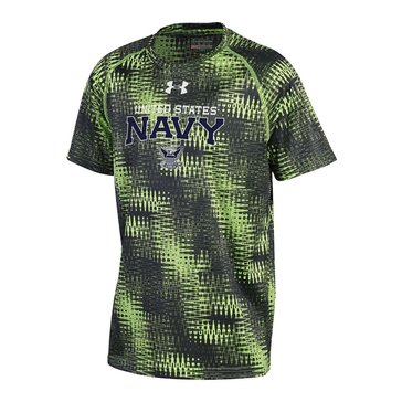 Under Armour Boys' Navy Update Novelty Tee