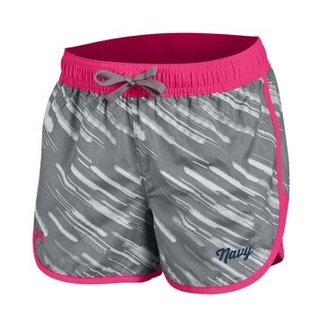 Under Armour Navy Script Girls Fast Lane Shorts