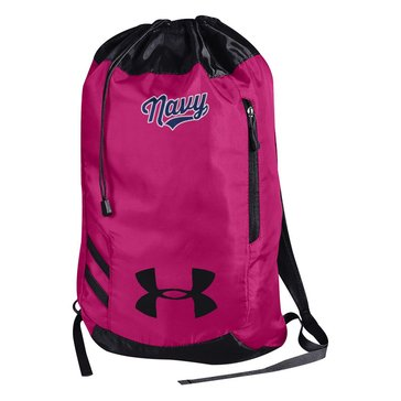 Under Armour Navy Girls Script Trance Sackpack