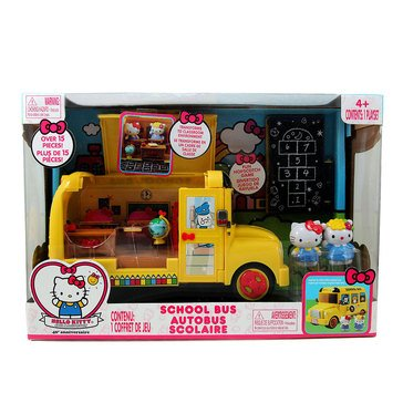 Hello Kitty School Bus Deluxe Playset