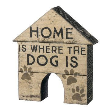 Primitives by Kathy House Shape - Home Is Where The Dog Is