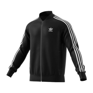 Adidas Men's Superstar Track Jacket - Black