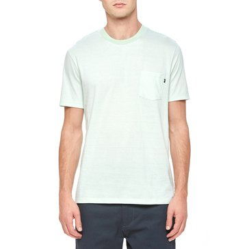 Obey Men's Wisemaker Short Sleeve Pocket Crew Knit Shirt