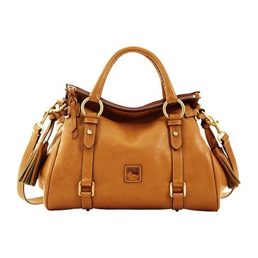 Dooney & Bourke Florentine Small Satchel Natural