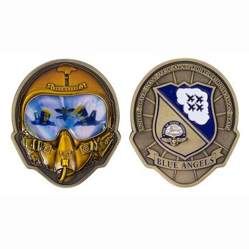 Vanguard Blue Angels Helmet Coin