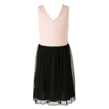 Speechless Big Girls' Social Lace & Chiffon Double Strap Dress