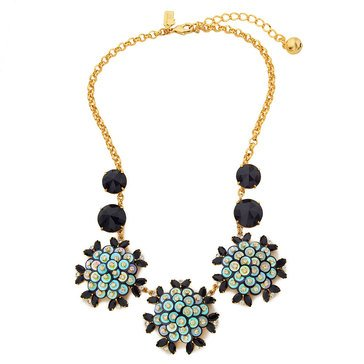 Kate Spade 'Be Bold' Black Multi Small Necklace