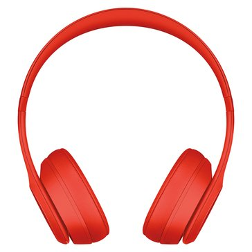 Beats Solo 3 Wireless On -Ear Headphones Red