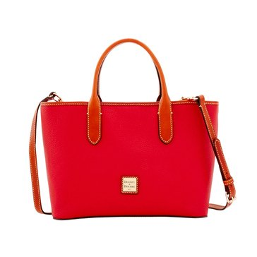 Dooney & Bourke Pebble Brielle Tote Red