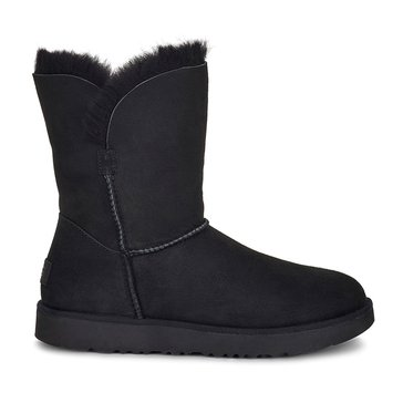 UGG Classic Cuff Women's Casual Short Boot Black