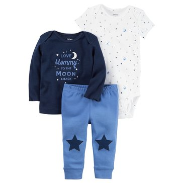 Carter's Baby Boys' 3-Piece Star Turn Me Around Set