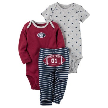 Carter's Baby Boys' 3-Piece Football Turn Me Around