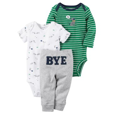 Carter's Baby Boys' 3-Piece Bye Turn Me Around Set