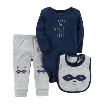 Carter's Baby Boys' 3-Piece Night Life Turn Me Around Set