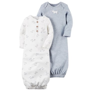 Carter's Baby Boys' 2-Pack Gown Set, Puppy
