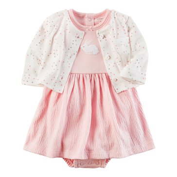 Carter's Baby Girls' 2-Piece Dress Set