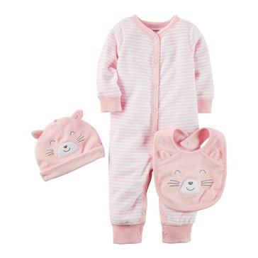 Carter's Baby Girls' 3-Piece Terry Set