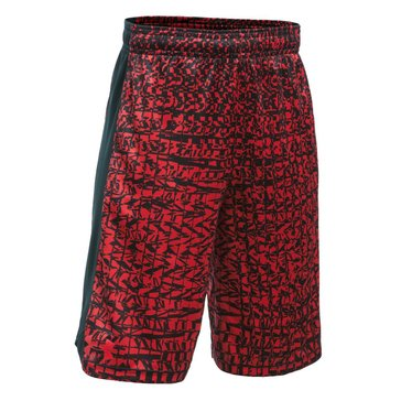 Under Armour Big Boys' Eliminator Printed Shorts, Red
