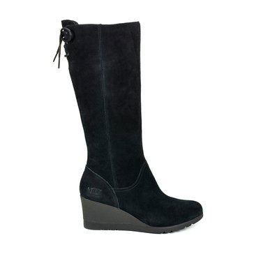 UGG Dawna Tall Back Women's Lace Up Casual Boot Black