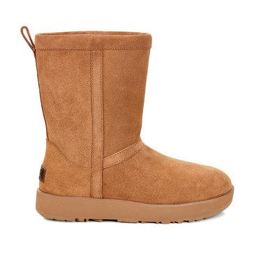 UGG Classic Short Women's Casual Waterproof Boot Chestnut