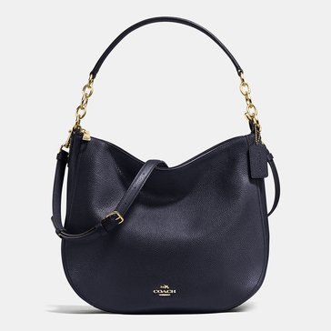 Coach Pebble Chelsea 32 Hobo Navy
