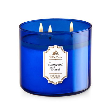 Bath & Body Works 3-Wick Candle - Bergamot Waters