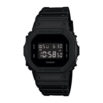 Casio G-Shock Men's Digital Watch DW-5600BB-1CR, Black 42.8mm